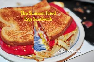 Summer Fried Egg Sandwich